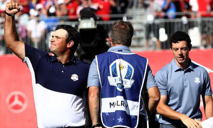 Rory McIlroy a été déçu après avoir perdu contre Patrick Reed en simple à la Ryder Cup 2016.