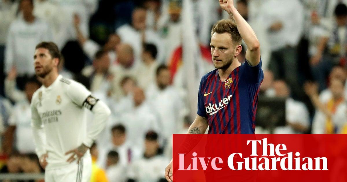 276924f74 Real Madrid 0-1 Barcelona  El Clásico – as it happened