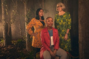 Mahsuda Snaith, Liv Little and Carolyne Larrington.