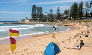 Singular beauty … Dee Why beach in northern Sydney.
