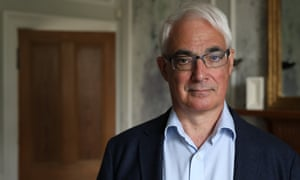 Alistair Darling … the calm, measured tones of a competent politician from a bygone era