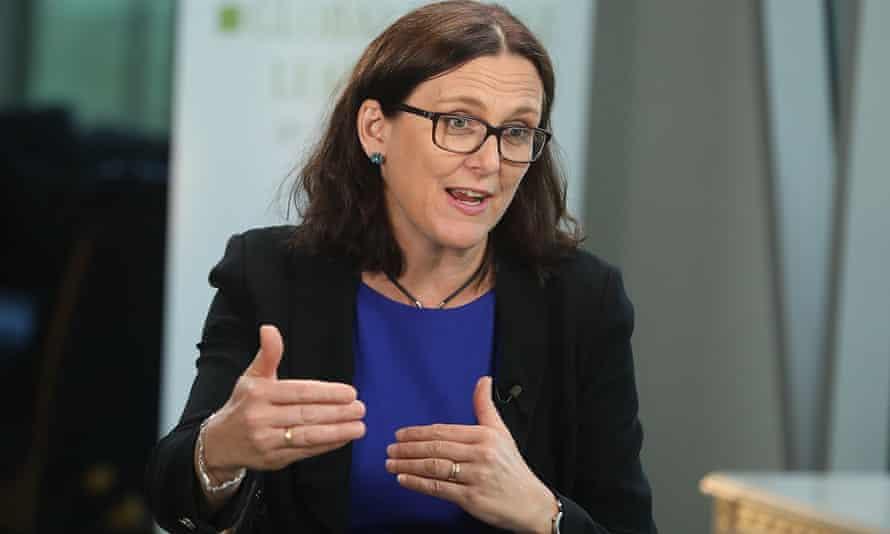Former European Union Trade Commissioner Cecilia Malmström