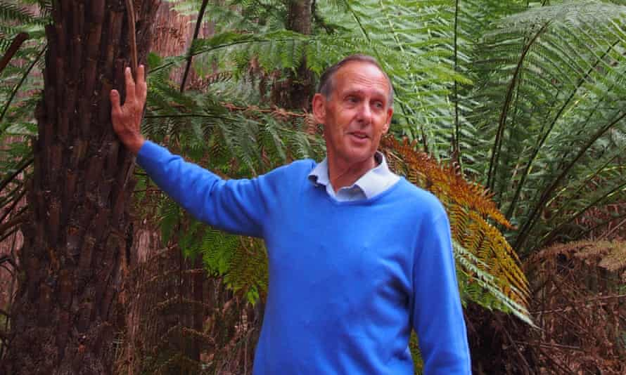 Bob Brown in a forest