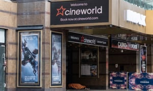 Cineworld announces the closure of 127 Cineworld and Picturehouse theatres in the UK affecting 5,500 jobs, 05 Oct 2020.