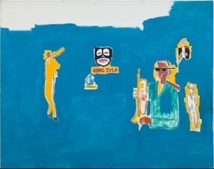 Jean-Michel Basquiat, King Zulu, 1986