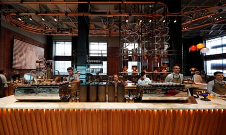 Starbucks in Milan.