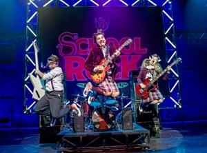 School Of Rock, New London theatre, London, 2019