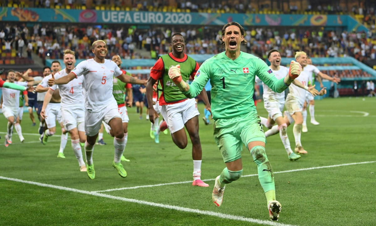 Switzerland's Sommer saves Mbappé's penalty to send France crashing out | Euro 2020 | The Guardian