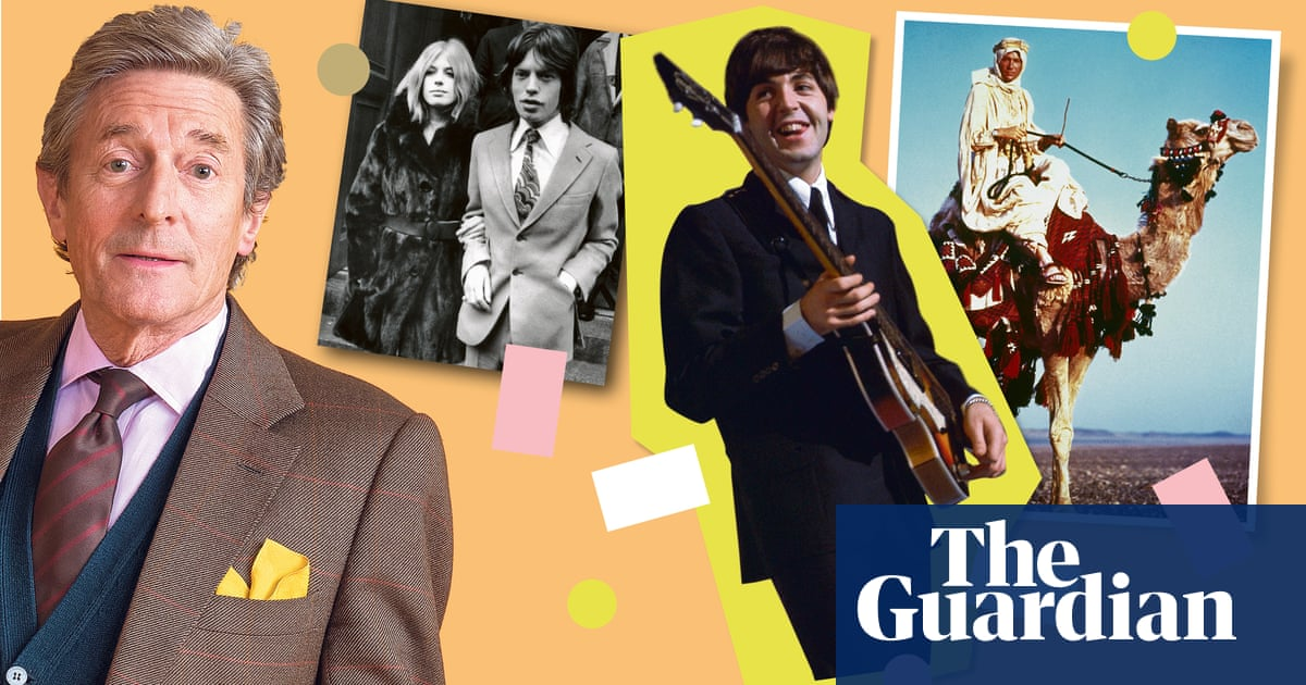 Nigel Havers: 'At 15, I sang Jumpin' Jack Flash to my dad in Mick Jagger's courtroom suit'