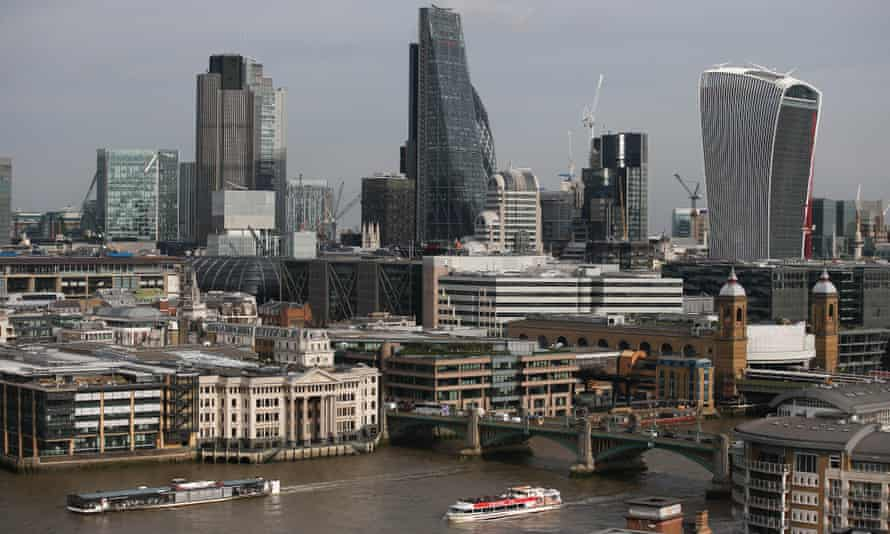 The City of London's skyline