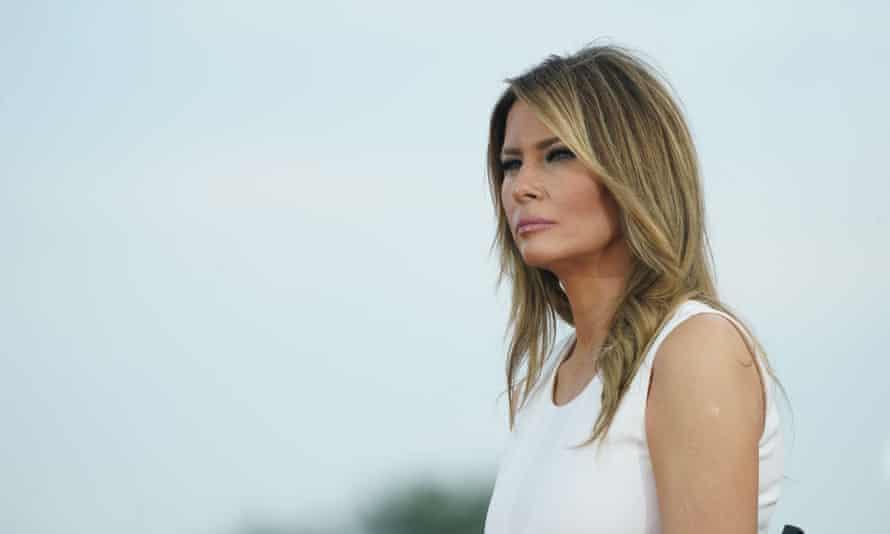 Melania Trump in Washington DC, on 4 July.