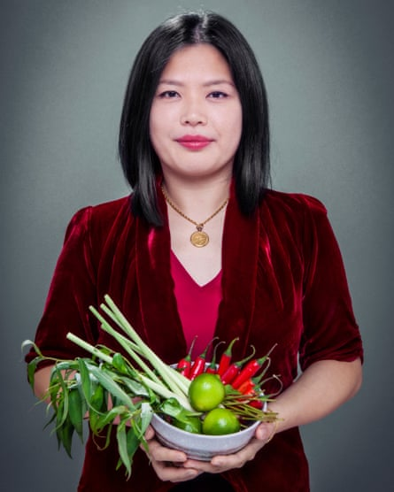 Mandy Yin, chef-owner of Sambal Shiok and Nasi Economy Rice, north London.