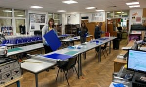 Harrogate grammar school staff and students make visors for NHS workers in their design classrooms.