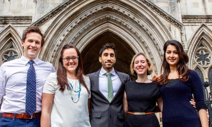 Founder members of the   group Justice for Health:   Dr Ben White, Dr Marie-Estrella McVeigh, Dr Amar Mashru, Dr Francesca Silman and Dr Nadia Masood.
