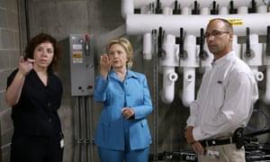 Hillary Rodham Clinton in Iowa