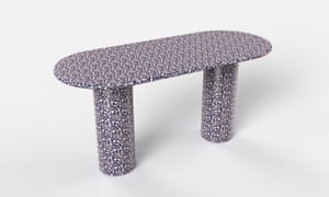 Pillar desk by Bethan Gray.