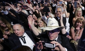 Believers: Donald Trump supporters attend the inauguration 'freedom ball' in Washington last month.
