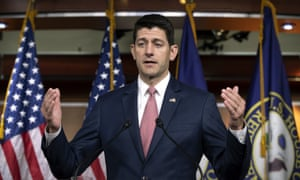 Paul Ryan told reporter on Thursday: 'Going down a path and having some kind of a spectacle on the floor that just results in a veto doesn't solve a problem.'