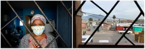 Alphonia Zali in Langa township near Cape Town, South Africa.