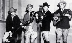 The Bluegrass Boys in about 1940.