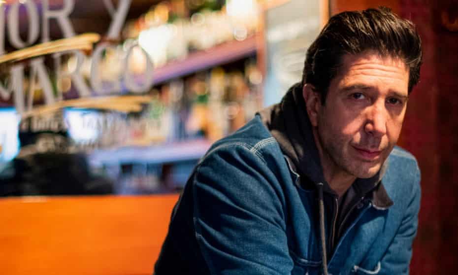 David Schwimmer at the bar Amor y Amargo in New York.