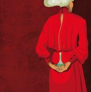 Daria Kirpach's illustration of the Nobel prize winner Rita Levi Montalcini.