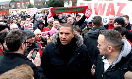 Nottingham Forest fans protest but Ben Osborn sees off Bristol City
