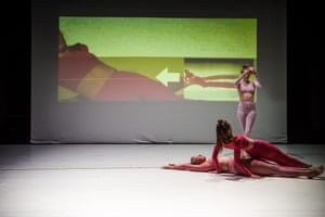 Sarah Aiken's work at the semi-finals of the Keir Choreographic Award, in Melbourne