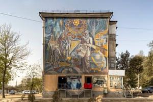 Avicenna Mosaic, Rakhnayev, Ilyayev, Grigorov, 1988. Dushanbe,