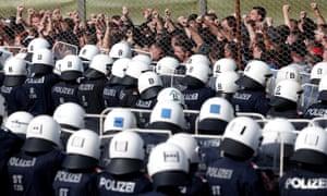 An Austrian police operation