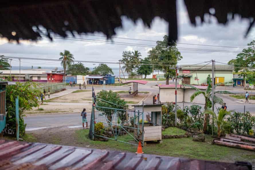 Lorengau, the capital of Manus.