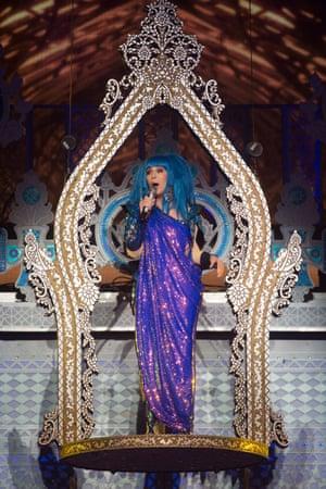 Relentless visual bombardment ... Cher.