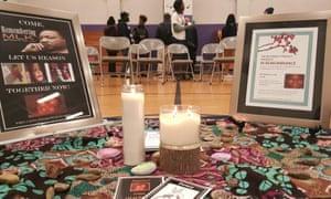 Tamir Rice candles