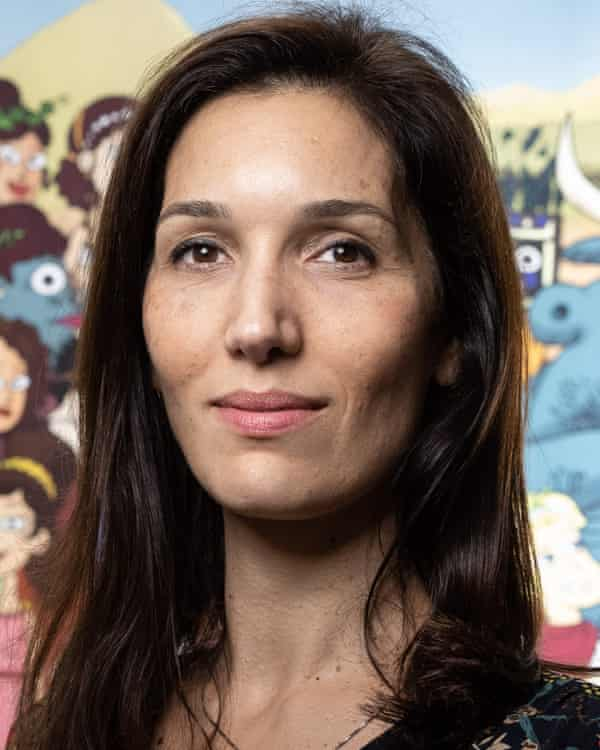 Delphine Minoui has won awards for her reporting on the Middle East.