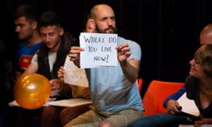Jonny Cotsen in English by National Theatre Wales and Quarantine
