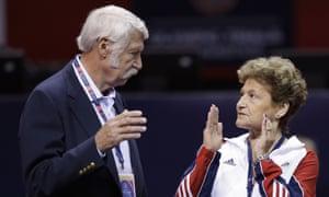 Bela and Martha Karolyi, the former US team coordinators