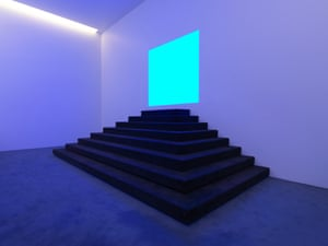 Event Horizon, a new work by James Turrell at the Museum of Old and New Art's new wing, Pharos, which opened in December 2017