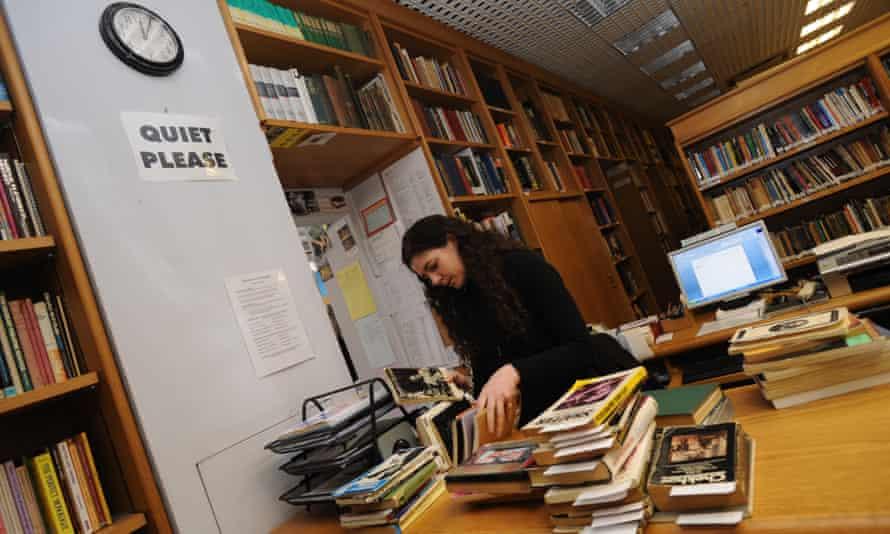 Library at RADA, UCL London