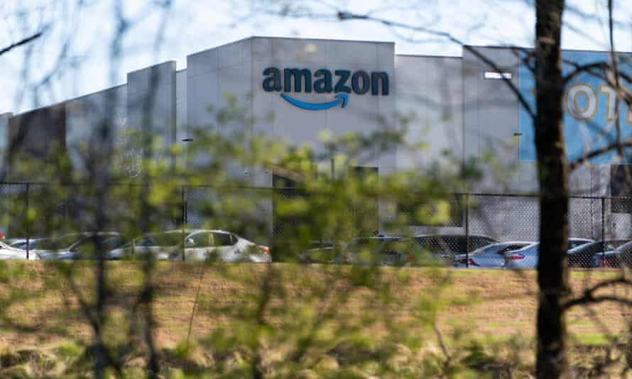 Amazon warehouse in Bessemer, Alabama