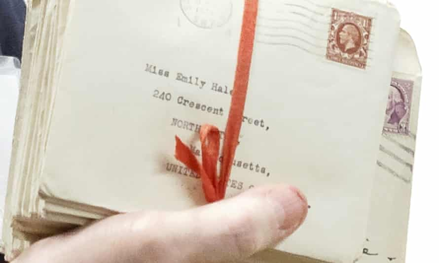 Letters between TS Eliot and Emily Hale displayed in Princeton, New Jersey
