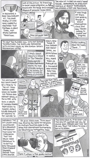 David Squires on ... the release of the new England kit