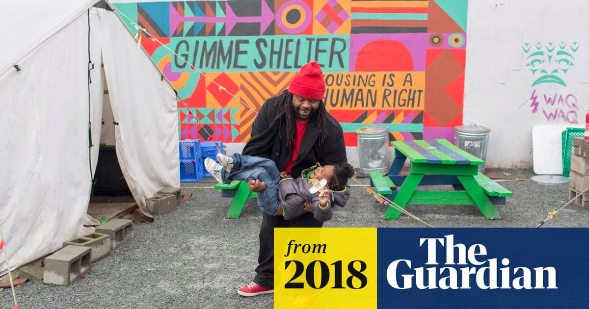 No link between homeless villages and crime rates, Guardian review suggests