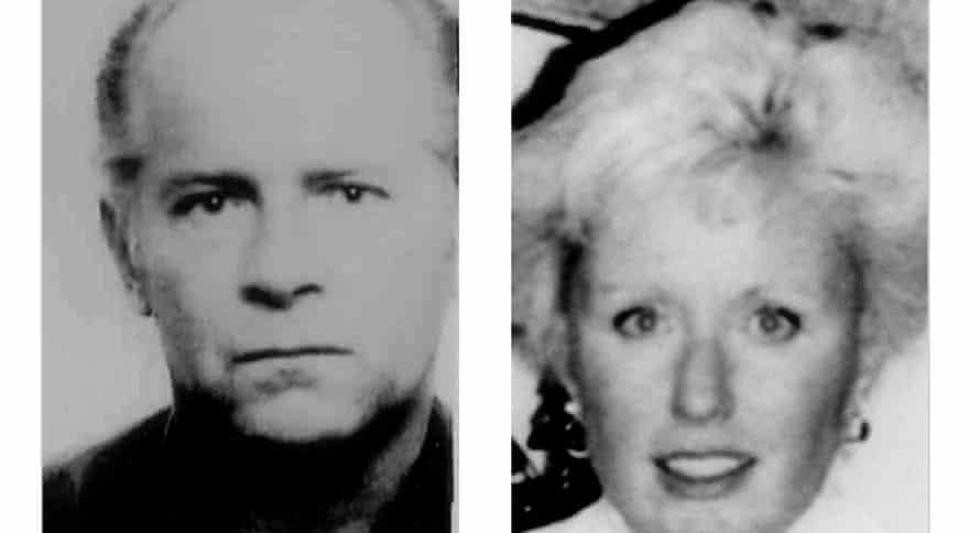 Whitey Bulger and Catherine Greig.