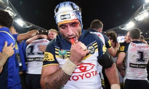 Johnathan Thurston was magnanimous in victory.