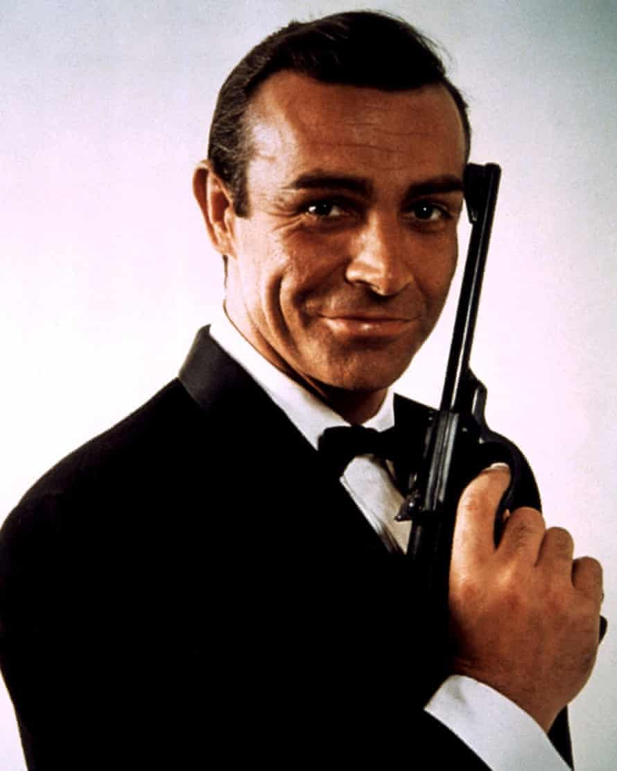Sex appeal ... Connery as James Bond.