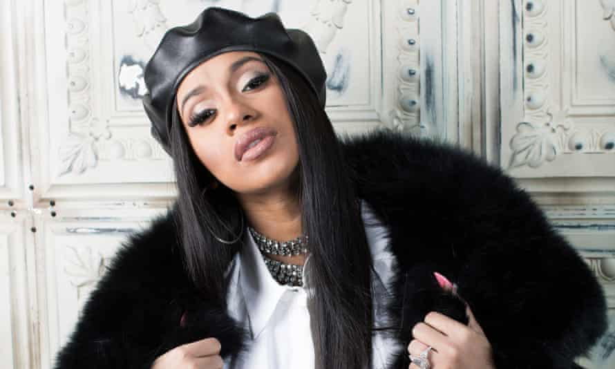 Cardi B, whose eagerly awaited debut album is released this week.