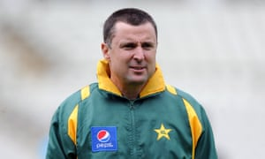 Trent Woodhill during a stint as Pakistan batting coach.