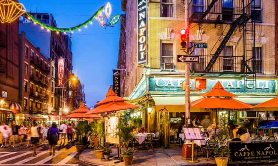 Little Italy, in New York