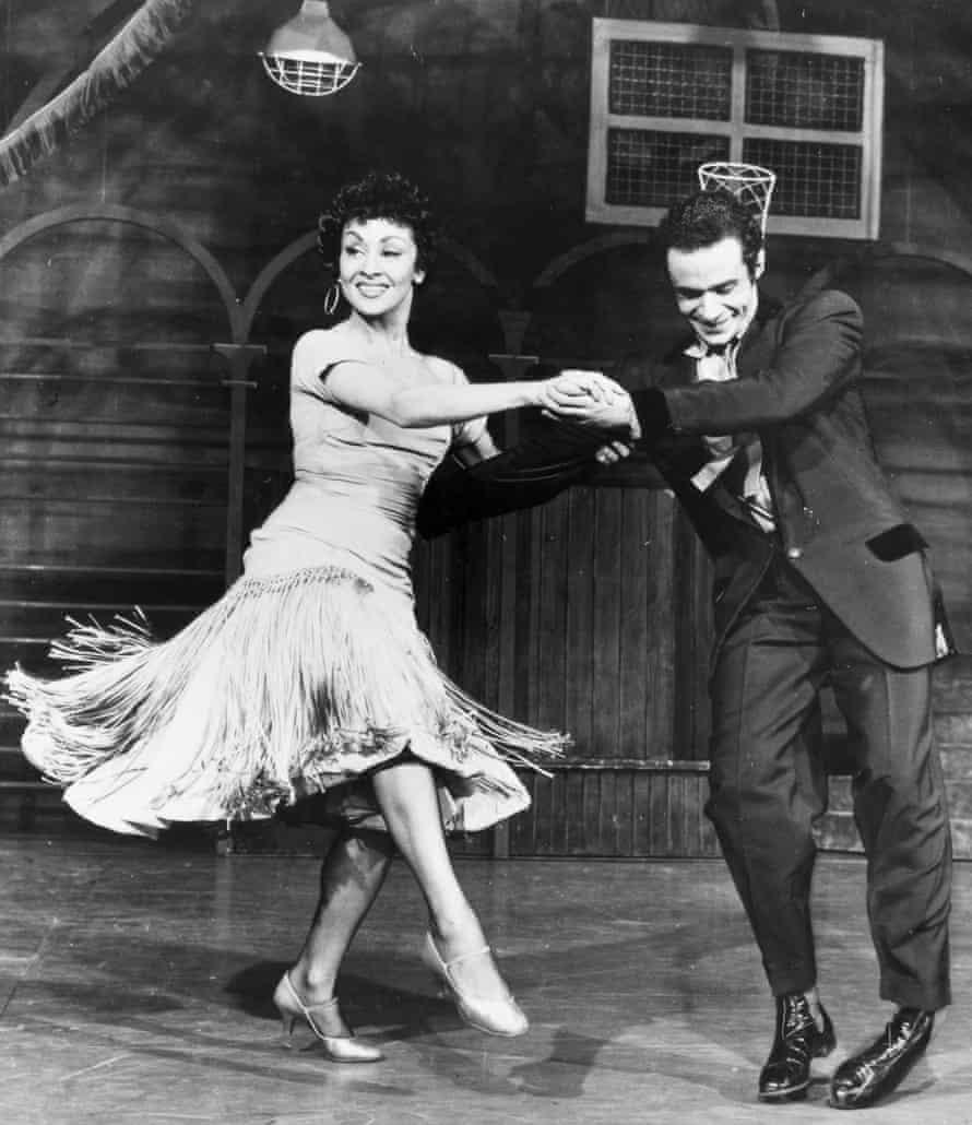Chita Rivera and Ken Leroy.
