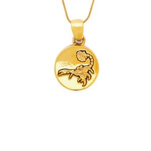 Scorpio gold necklace, £335, Alan Crocetti, matchesfashion.com